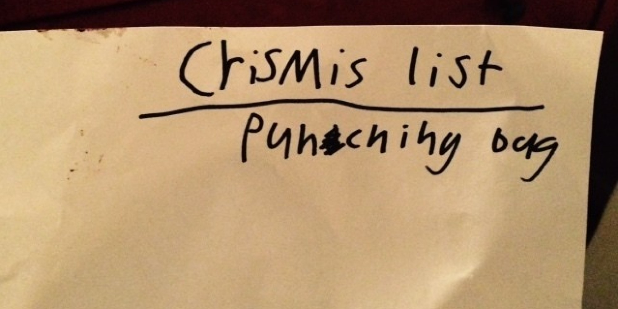 15 kids who nailed their letters to santa huffpost spiritdancerdesigns Choice Image