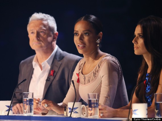 Mel B Forgets Her Wedding Ring As She Returns For X Factor Final