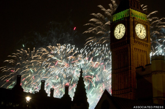 london new years eve fireworks