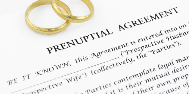 Prenuptial Agreements For Peace Of Mind And Post Coital Bliss Huffpost