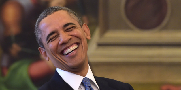 Image result for Obama smiling