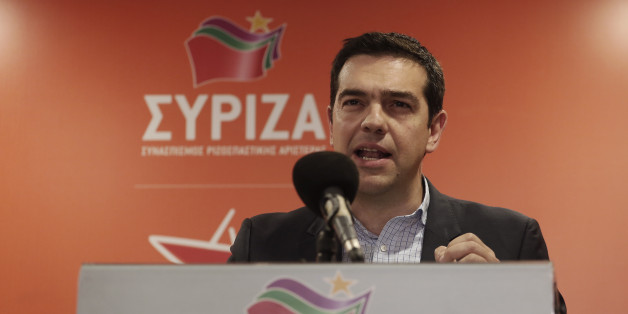 left wing leader alexis tsipras - 628×314