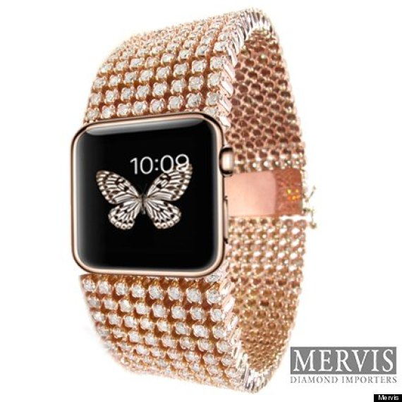 apple watch diamonds