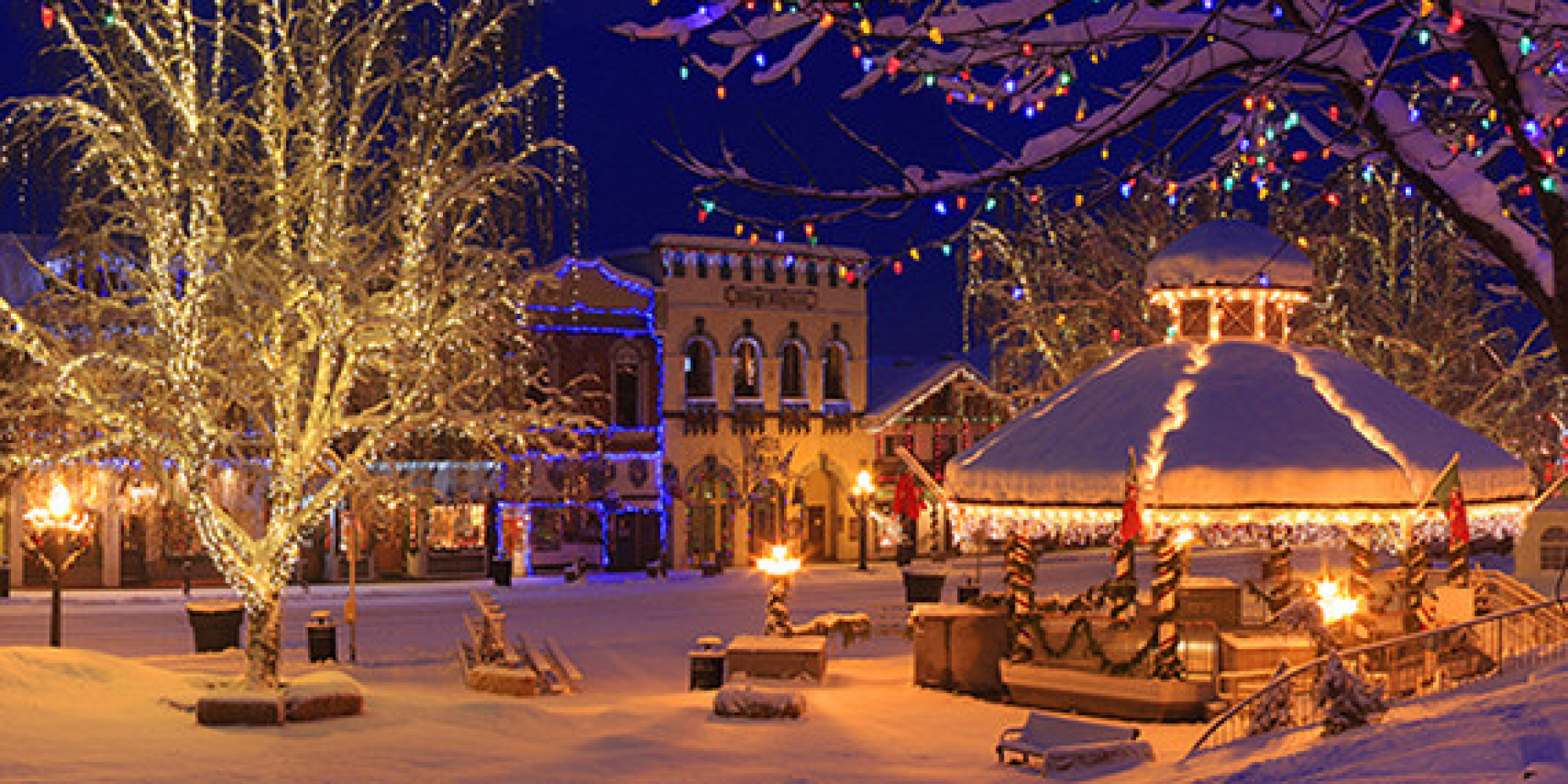 10 Best Small Towns for the Holidays | HuffPost