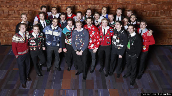 canucks ugly christmas sweaters