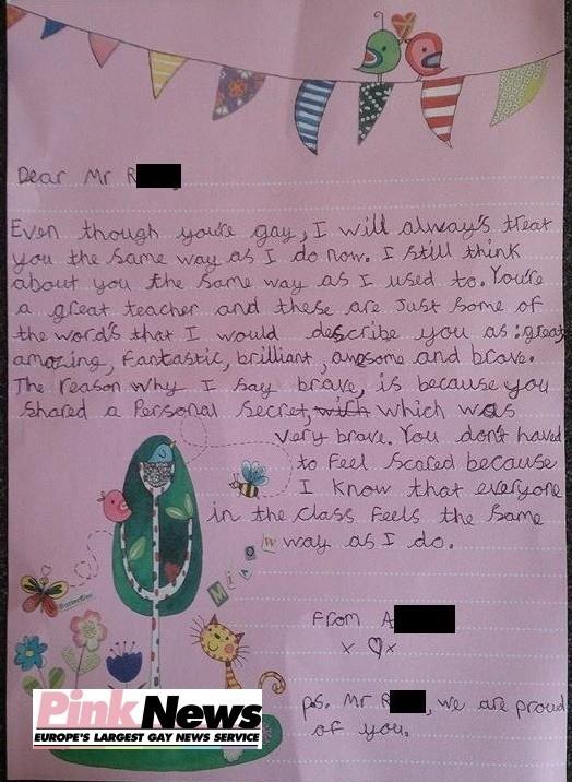 9 Jährige Schreibt Rührenden Brief An Ihren Lehrer Nachdem Er Sich
