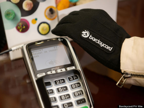 barclaycard glove