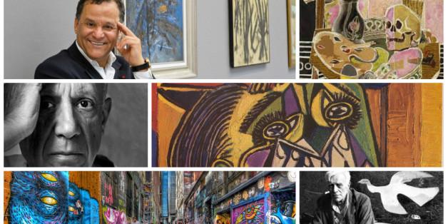 Picasso, Belkahia et street art au Musée Mohammed VI