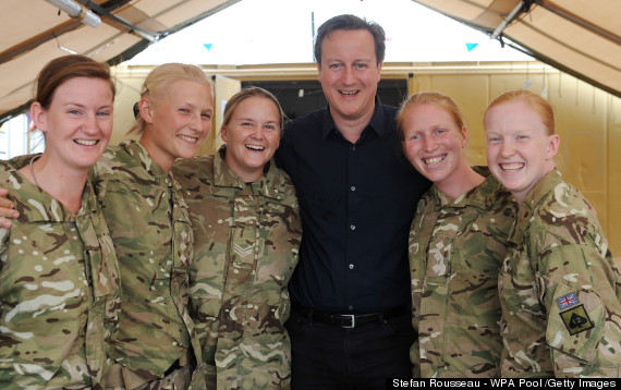 Women Fighting On The Front Line Is A 'Politically Correct' Mistake... Says Female Officer