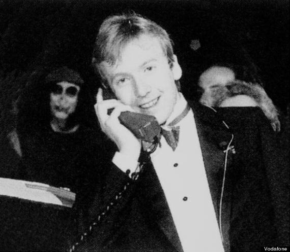 first mobile phone call