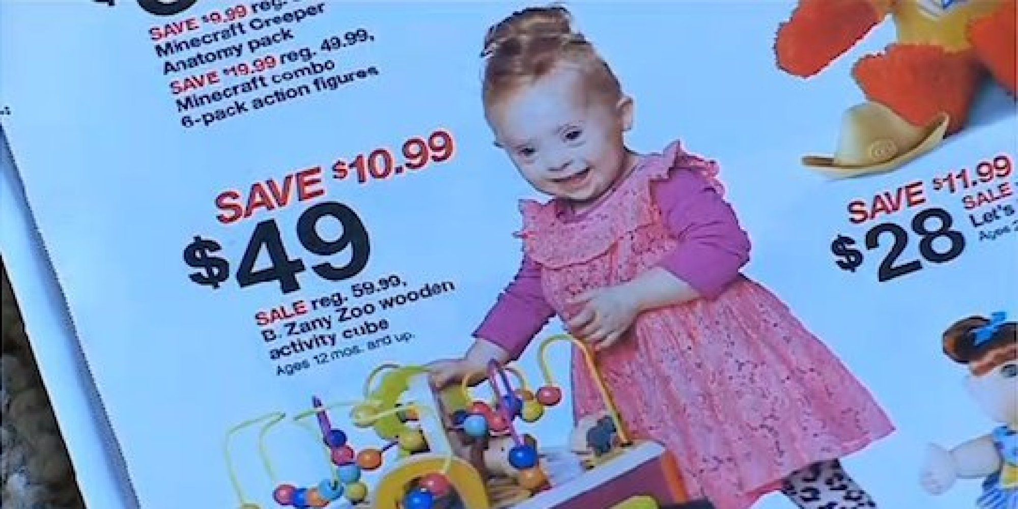 Toddler With Down Syndrome Stars In Target Ad Helps Raise Awareness
