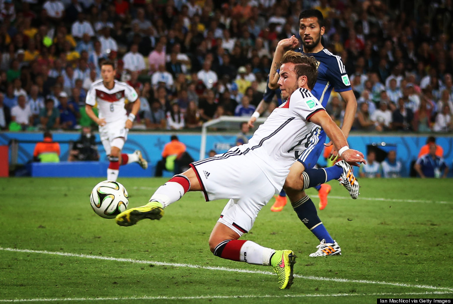 world cup final mario gotze