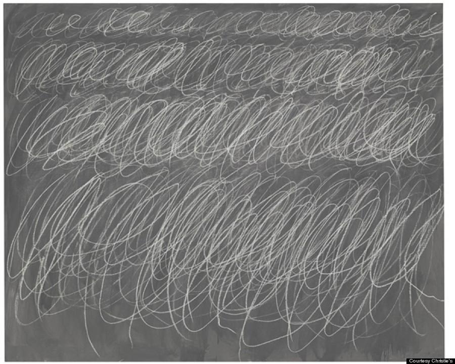 cy twombly blackboard untitled