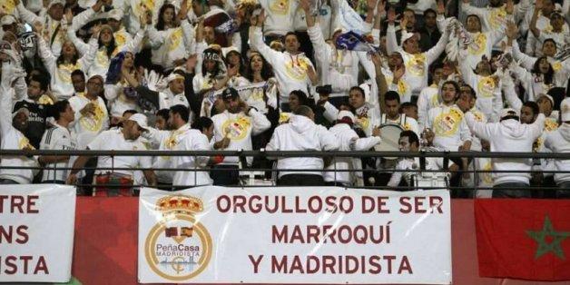 Les supporters de la Peña Casa Madridista lors de la finale de la Coupe du monde des clubs, le 20 décembre 2014