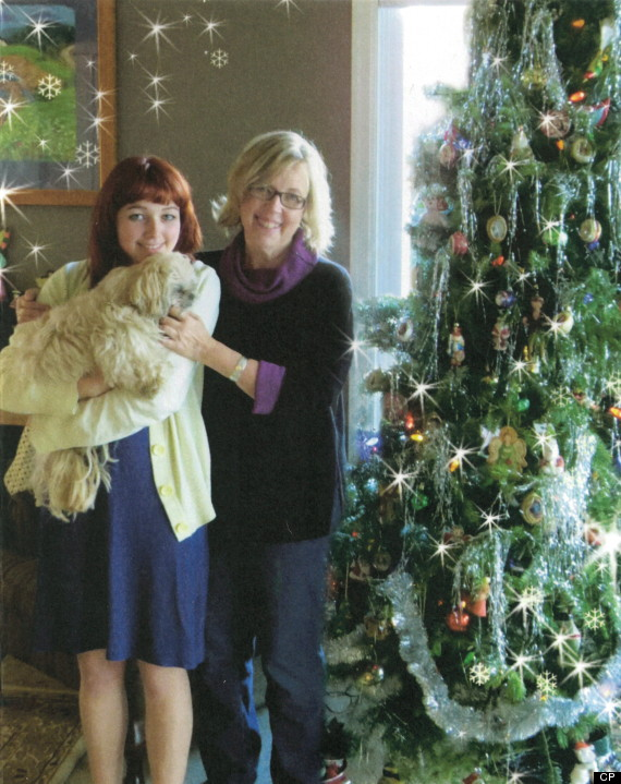 elizabeth may christmas card