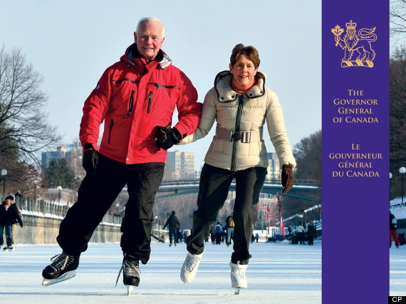 governor general christmas card