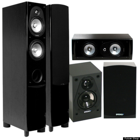 energy home theatre speakers