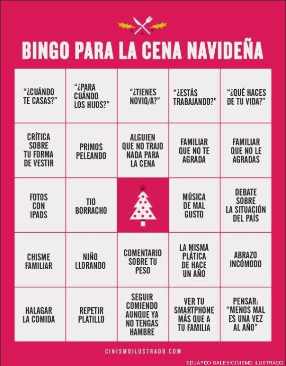 Bingo De Nochebuena Si En Tu Casa Se Repiten Estas Frases Ganas