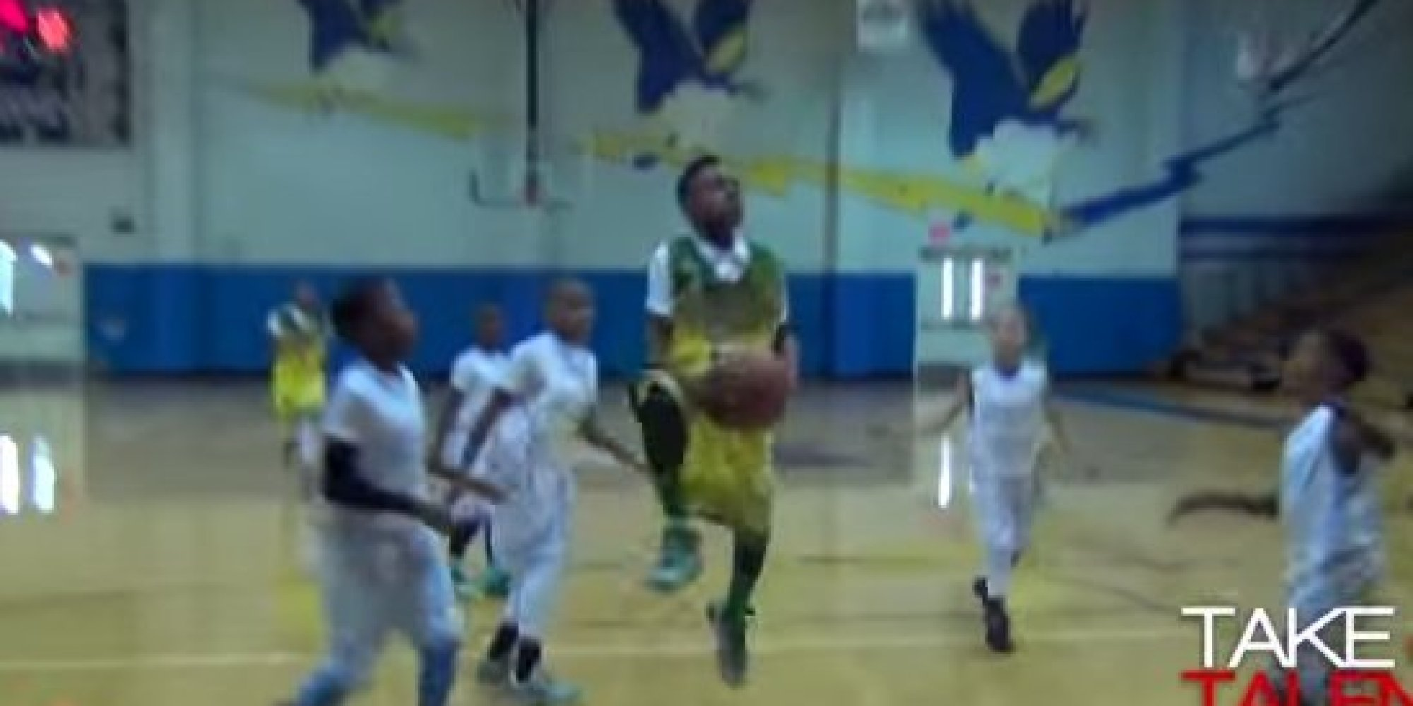 LeBron James 10 Year Old Son Is Already Dazzling On The Court