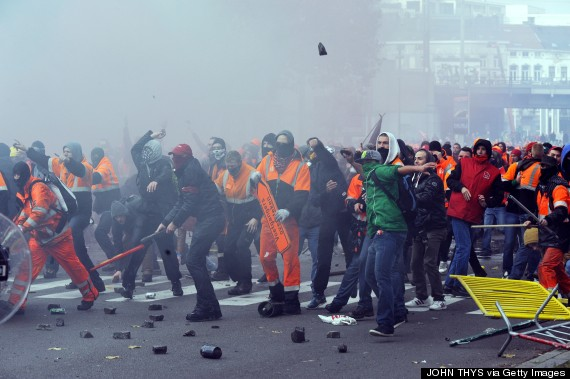 belgian demonstration
