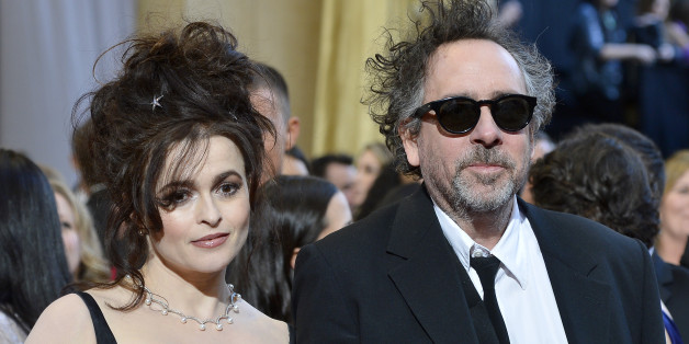HOLLYWOOD, CA - FEBRUARY 24:  Actress Helena Bonham Carter and director Tim Burton arrive at the Oscars at Hollywood & Highland Center on February 24, 2013 in Hollywood, California.  (Photo by Frazer Harrison/Getty Images)