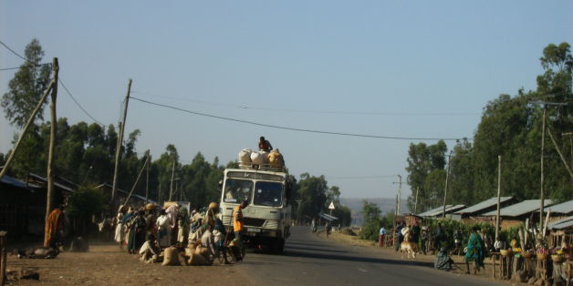 The man was shot in the north western Ethiopian city of Bahir Dar (file picture)