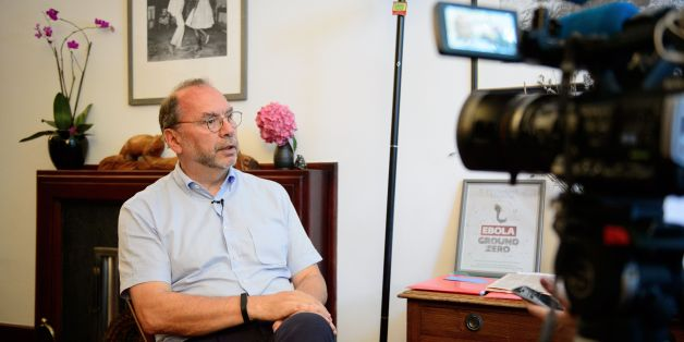 Professor Peter Piot, the Director of the London School of Hygiene and Tropical Medicine, speaks during an interview at his office in central London, England, on July 30, 2014.  Professor Piot was one of the co-discoverers of the Ebola virus during its first outbreak in Zaire, in 1976.  AFP PHOTO/Leon NEAL        (Photo credit should read LEON NEAL/AFP/Getty Images)