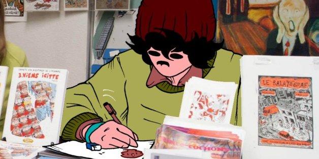 """Entretien avec """"Bonnet"""", bédéiste marocain repéré par le Festival international de la bande dessinée d'Angoulême"""