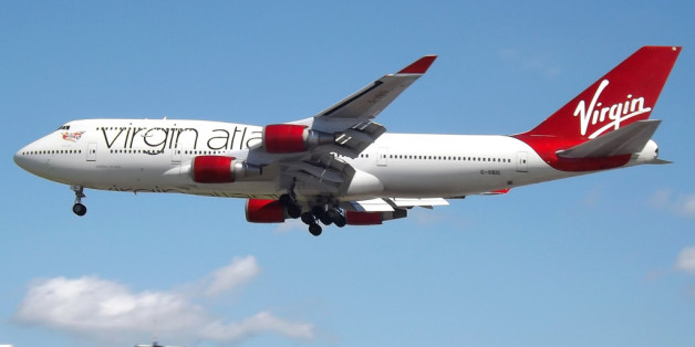 G-VBIG Boeing 747-400 Virgin Atlantic