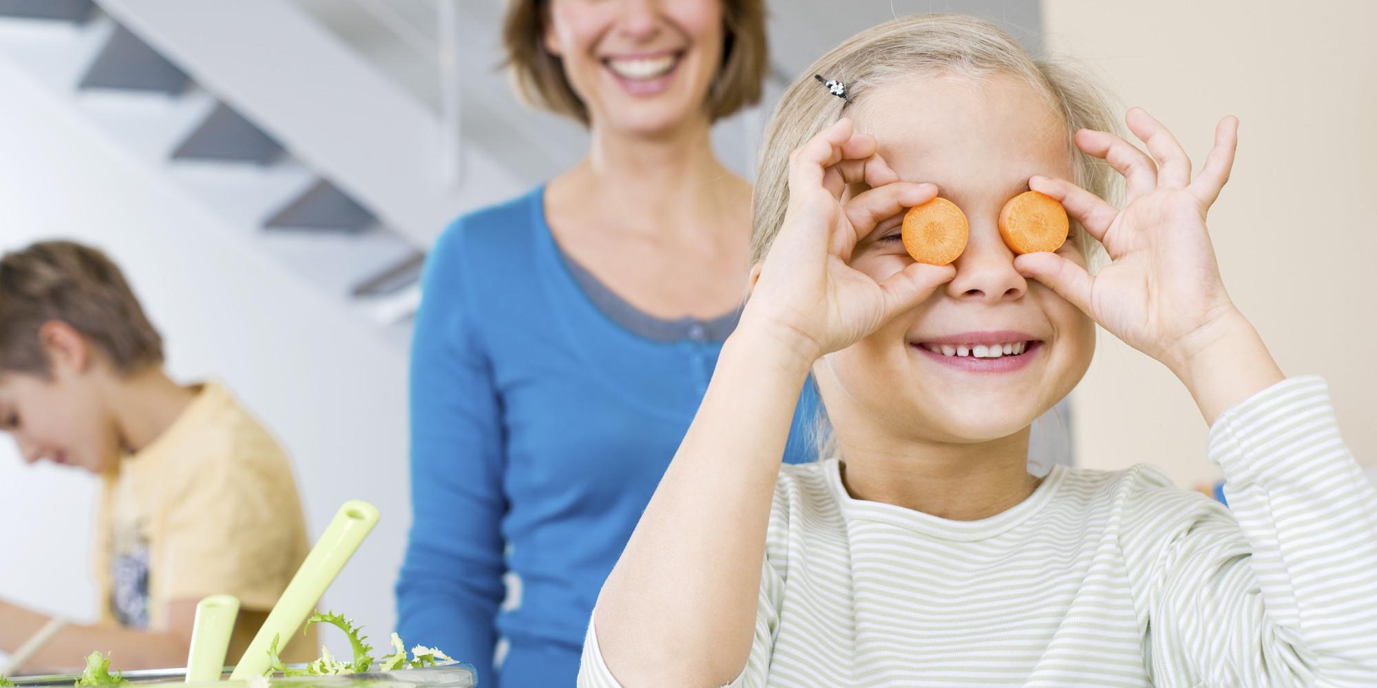 Диета для улучшения зрения