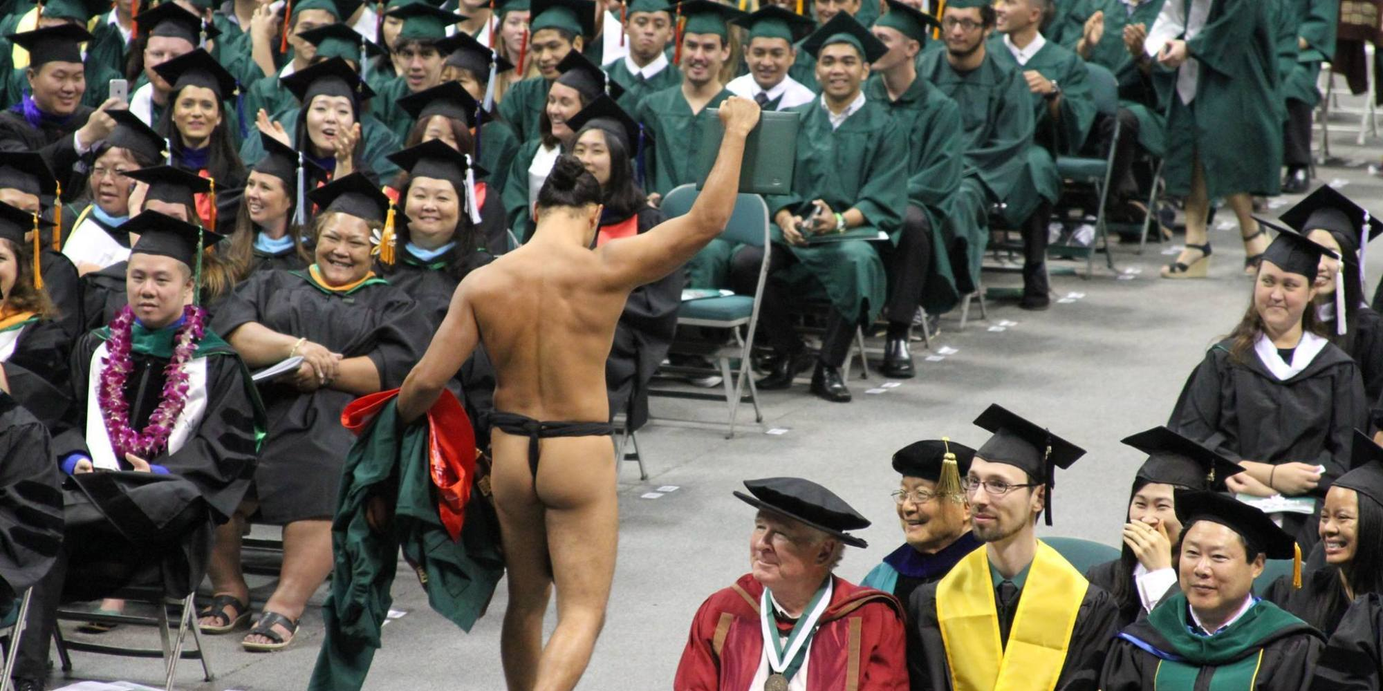 This Graduate Stripped Down For All The Right Reasons (PHOTO) | HuffPost