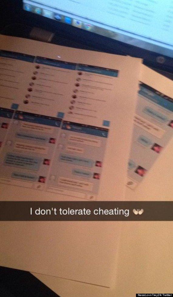 cheating twitter