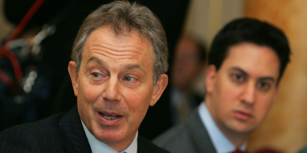 Tony Blair Denies Warning Ed Miliband Is 'Too Left Wing' And Won't Beat The Conservatives