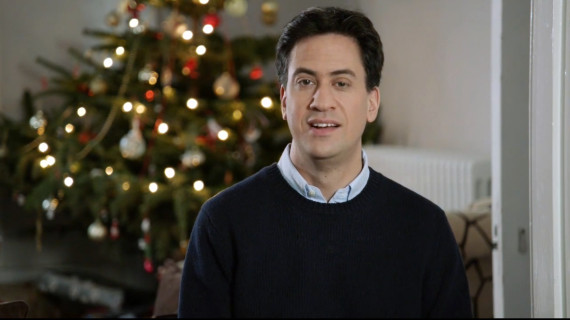 miliband christmas message
