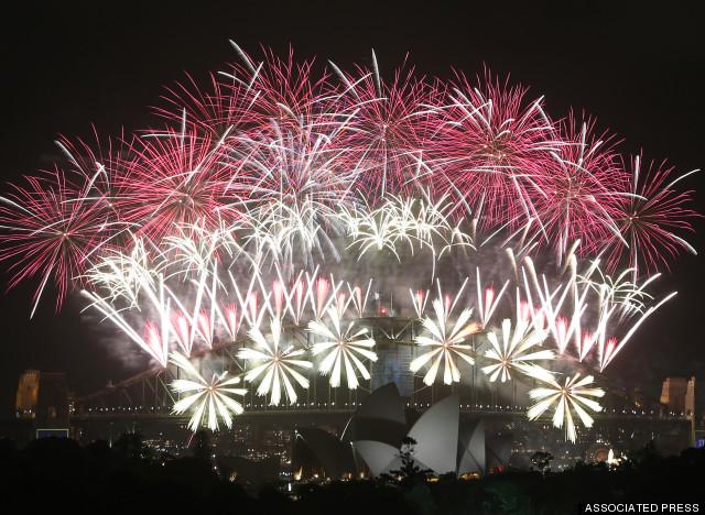 happy new year australia