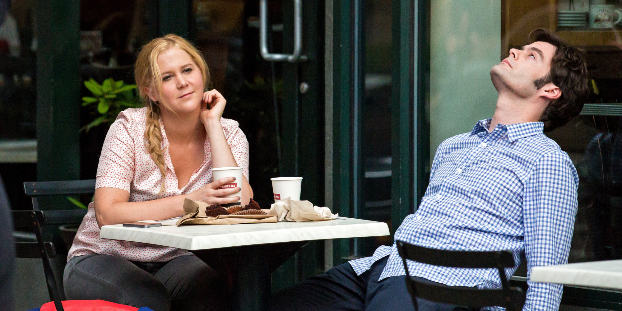 INTERVIEW: Amy Schumer, Judd Apatow, and the Trainwreck Comedy ...
