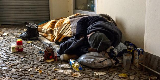 Was Obdachlose wirklich brauchen? Bezahlte Arbeit.