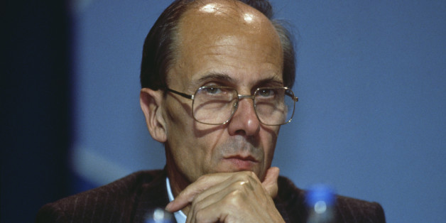 British politician Norman Tebbit at the Conservative Party Conference in Brighton, 12th October 1988. (Photo by Georges De Keerle/Getty Images)