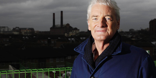 Inventor Sir James Dyson, who has pledged to spend £1billion on the research and development of 100 new products over the next four years.