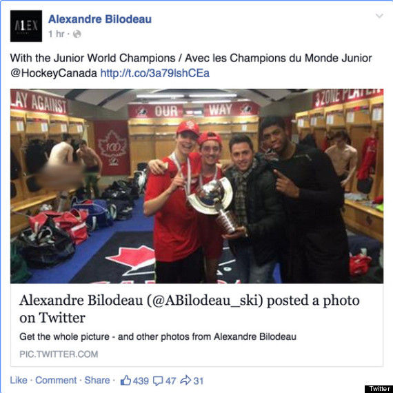 do not use alex bilodeau