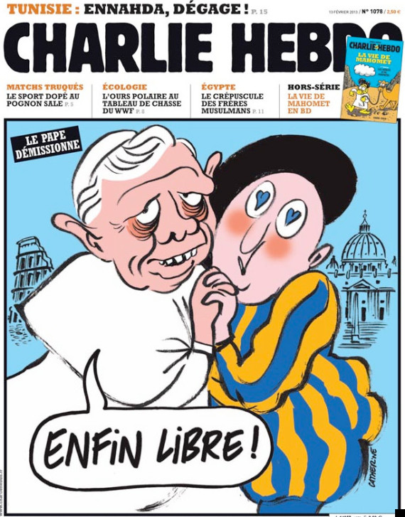 charlie hebdo front cover