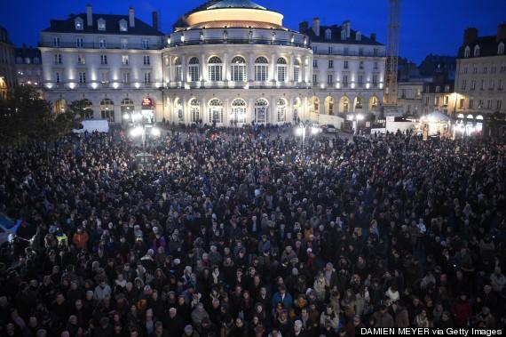 rennes crowd