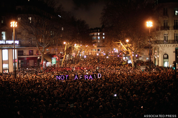 not afraid paris