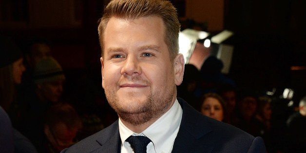 LONDON, ENGLAND - JANUARY 07:  (EMBARGOED FOR PUBLICATION IN UK TABLOID NEWSPAPERS UNTIL 48 HOURS AFTER CREATE DATE AND TIME. MANDATORY CREDIT PHOTO BY DAVE M. BENETT/GETTY IMAGES REQUIRED) James Corden attends the 'Into The Woods' gala screening at The Curzon Mayfair on January 7, 2015 in London, England.  (Photo by David M. Benett/WireImage)