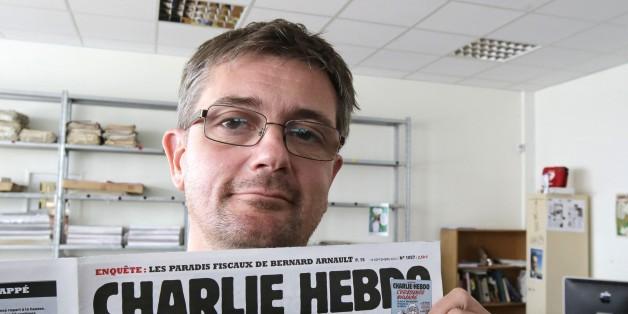 """Der Chefredakteur von """"Charlie Hebdo"""", Stéphane Charbonnier"""