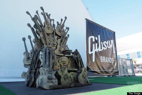 guitar iron throne
