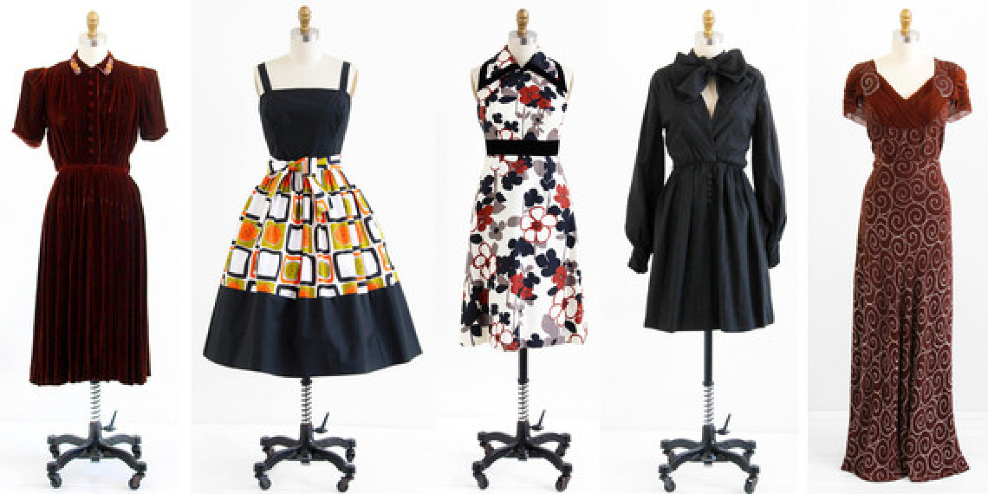 Five Reasons Vintage Clothing Is Not Just Old Used Clothes Even Though It Kind Of Is Huffpost