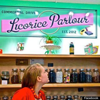 commercial drive licorice parlour