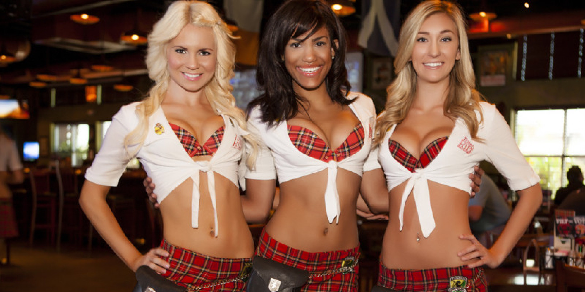 breastaurants booming as the restaurant industry struggles | huffpost