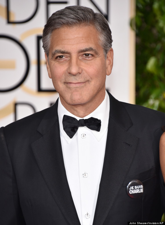 george clooney golden globes